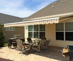 Awning Backyard Upgrade During The Spring Season